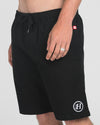 THE BASIC CHINO SHORT 19 - BLACK