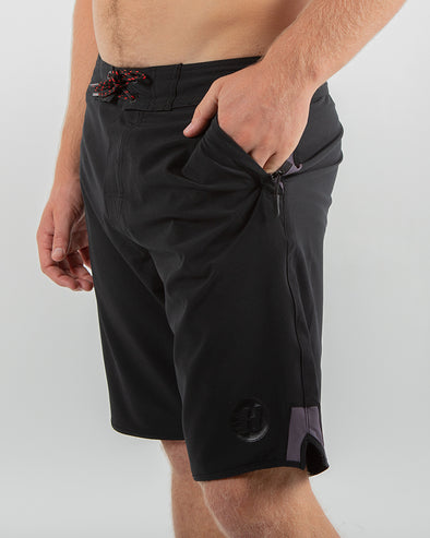 "ALL ROUNDER BOARDSHORT 19"" - BLACK"