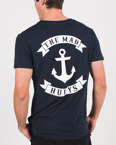 ANCHOR SHORT SLEEVE TEE - NAVY