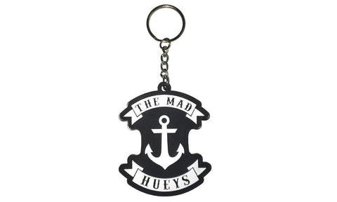 ANCHOR KEY RING BLACK