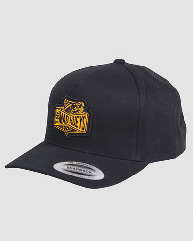 BARRADISE TWILL SNAPBACK - BLACK