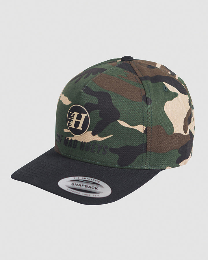 BASS HUNTER TWILL SNAPBACK - CAMO