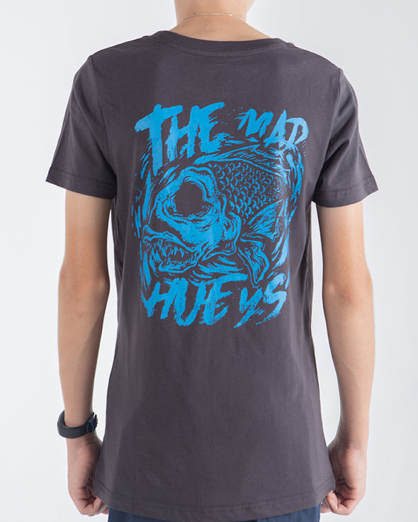 YOUTH BIG BITE SHORT SLEEVE TEE - ALMOST BLACK