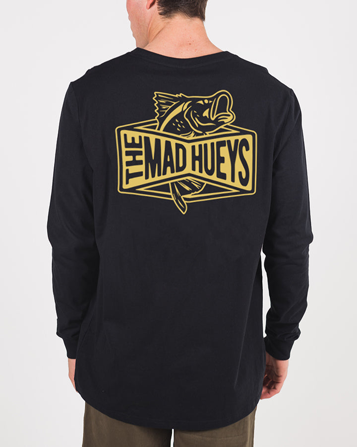 BARRADISE LONG SLEEVE TEE - BLACK