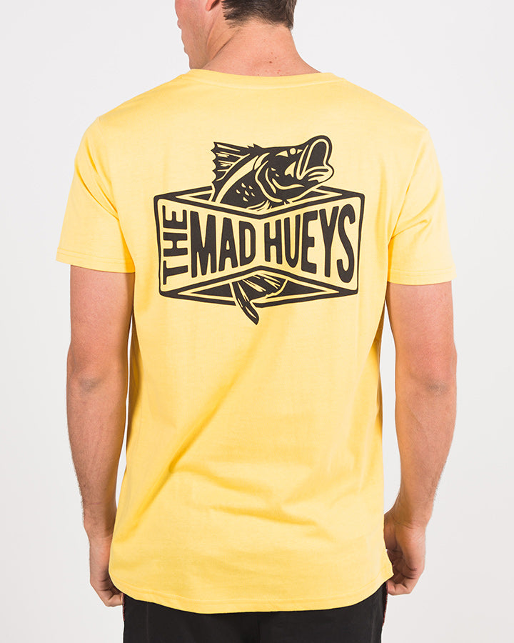 BARRADISE SHORT SLEEVE TEE - YELLOW