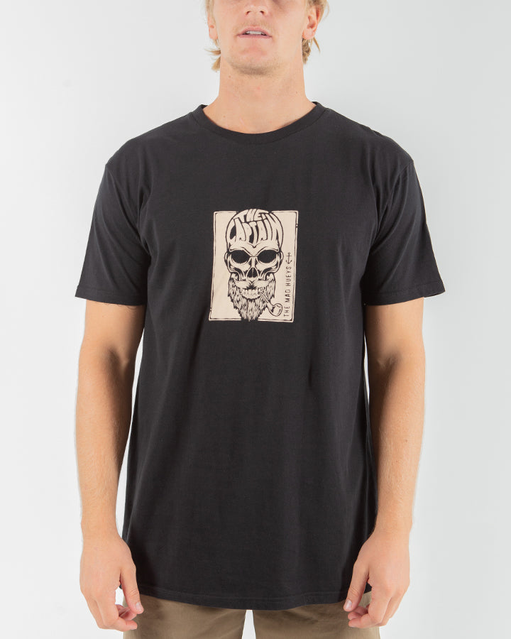 CAPT BONES SHORT SLEEVE TEE - BLACK