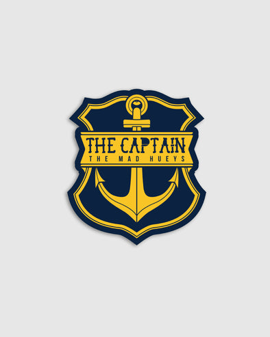 CAPTAIN STICKER NAVY