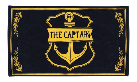 CAPTAIN BEACH TOWEL