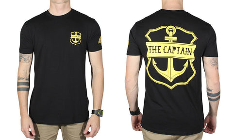 CAPTAIN TEE BLACK