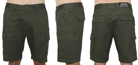 CARGO SHORTS ARMY GREEN