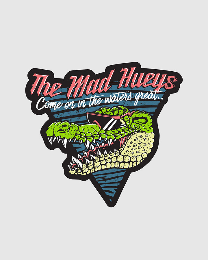 BIG CROC STICKER (111MM X 120MM)