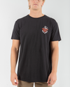 FIRST IN SHORT SLEEVE TEE - BLACK