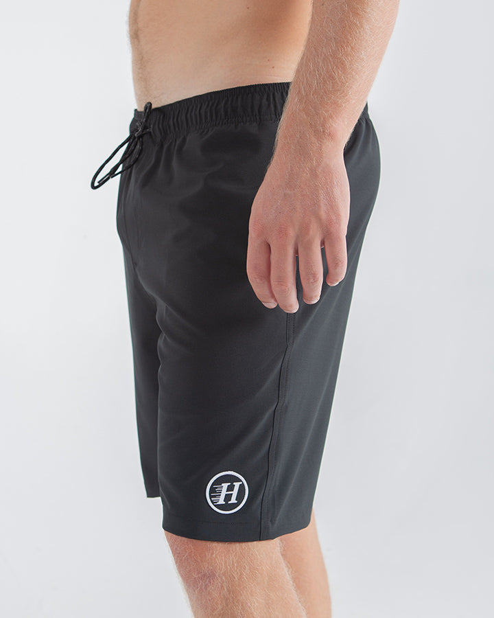 "FISH EASY POOLSHORT 19"" - BLACK"