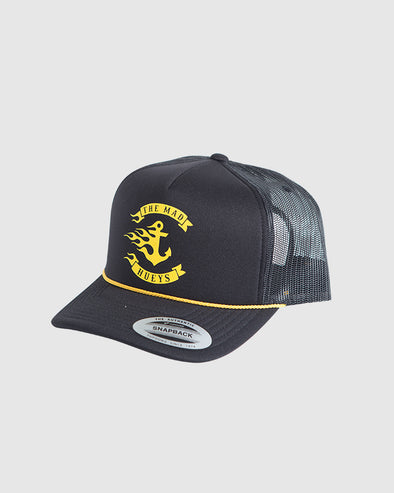 FLAMIN ANCHOR FOAM TRUCKER - BLACK