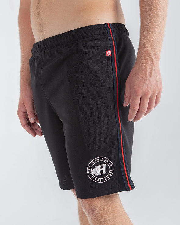 "FLAMIN H BBALL SHORT 19"" - BLACK"