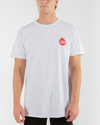 FLAMIN SHOEY SHORT SLEEVE TEE - WHITE