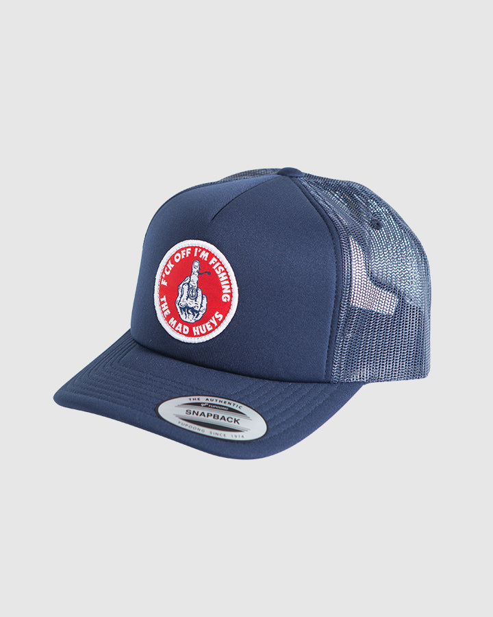 IM FISHING FOAM TRUCKER - NAVY