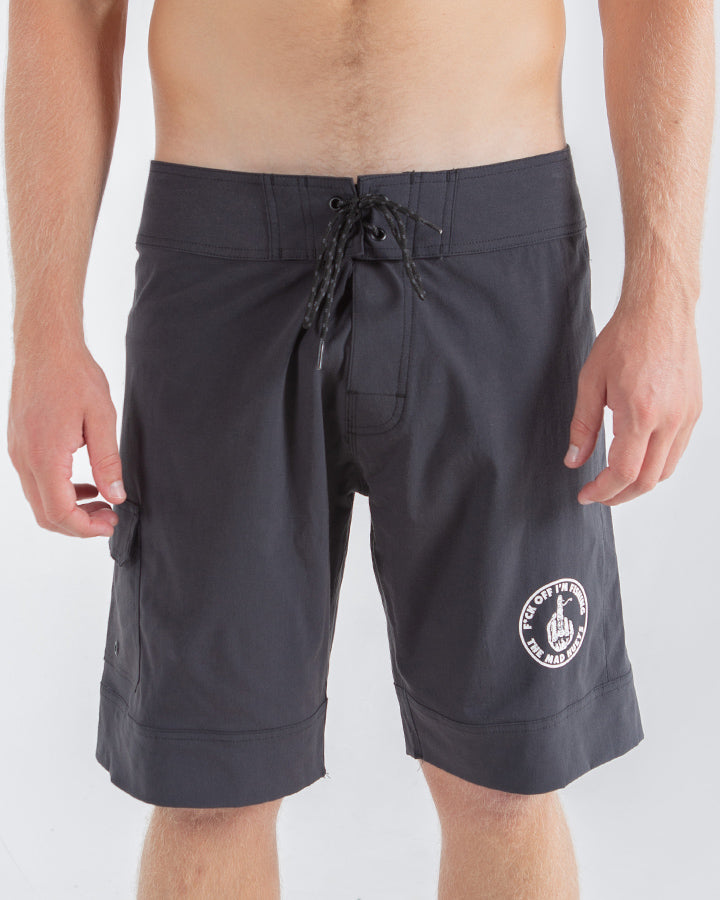 "IM FISHING BOARDSHORT 19"" - BLACK"