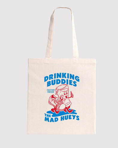 DRINKING BUDDIES TOTE BAG