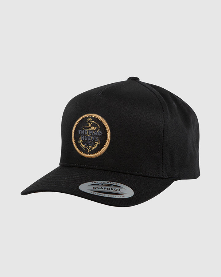 FIRST IN TWILL SNAPBACK - BLACK