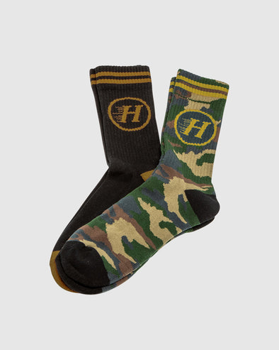 FLYING H 2 PK SOCKS