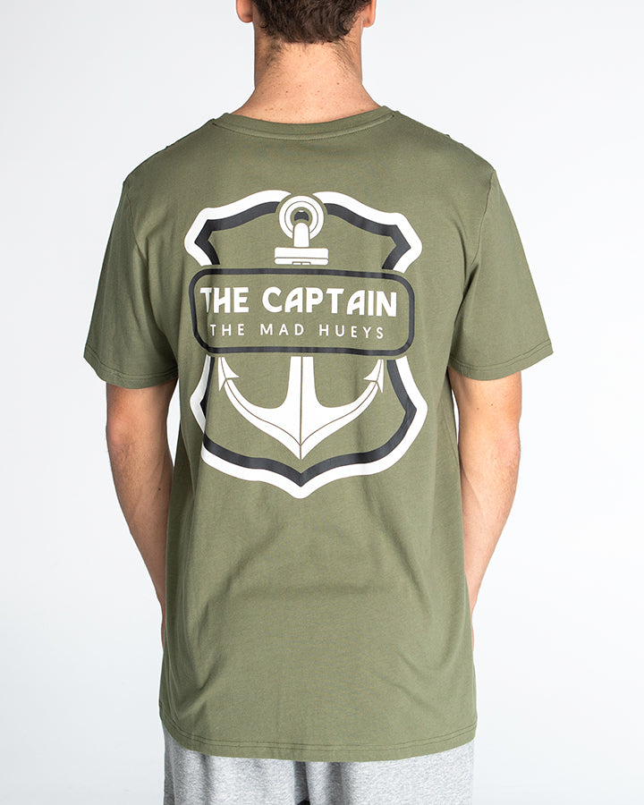 THE RETRO CAPTAIN SHORT SLEEVE TEE