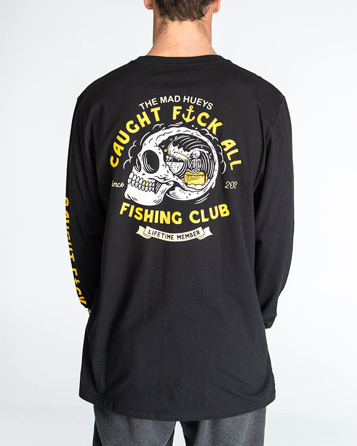 FK ALL CLUB LONG SLEEVE TEE - BLACK
