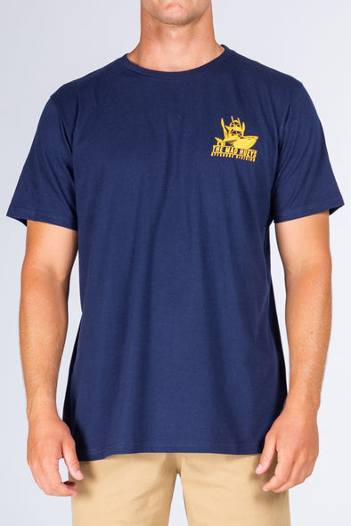 OFFSHORE UV SS TEE - NAVY