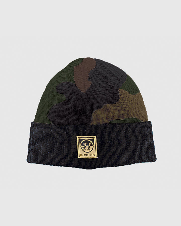 DOUBLE UP BEANIE - CAMO