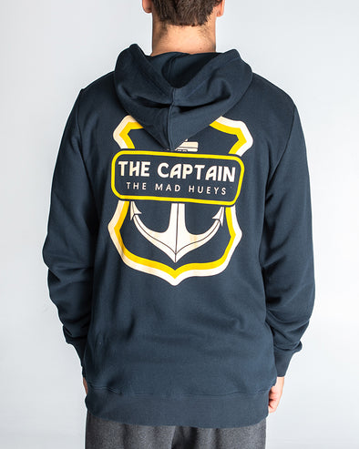 THE RETRO CAPTAIN ZIP THRU - NAVY