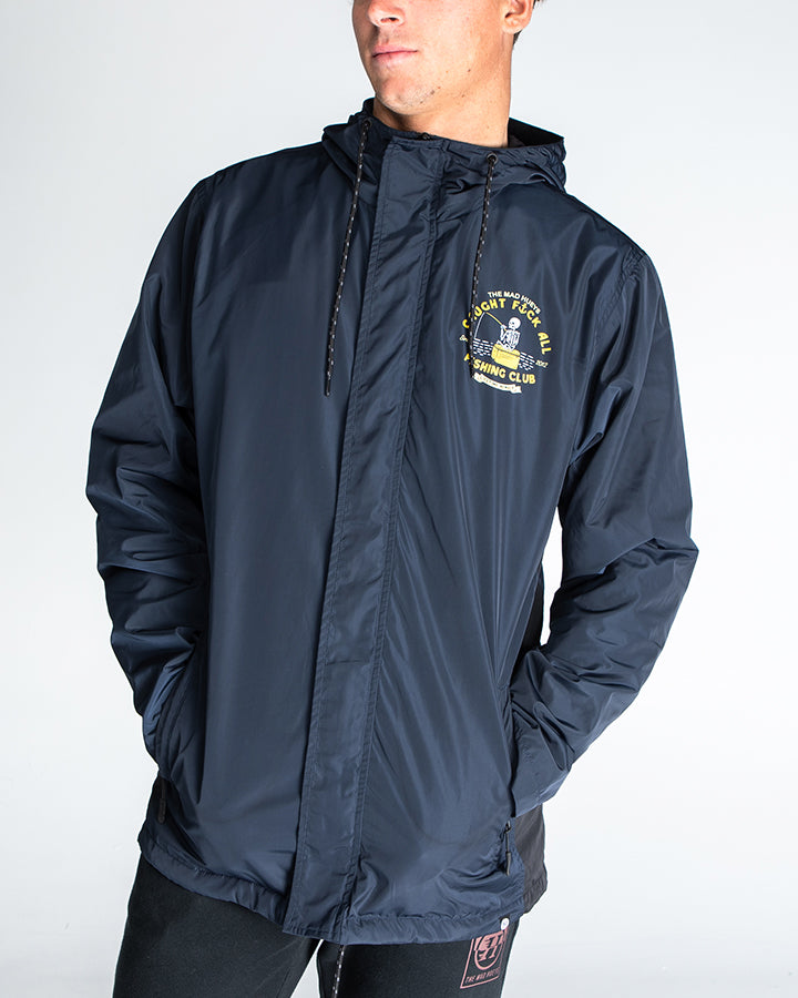 FK ALL CLUB SPRAY JACKET - NAVY