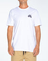 GONE FISHING SS TEE - WHITE