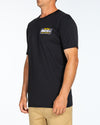 SURF FISH PARTY SS TEE - BLACK