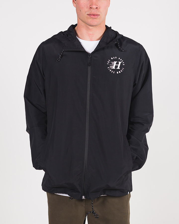 HERITAGE SPRAY JACKET - BLACK