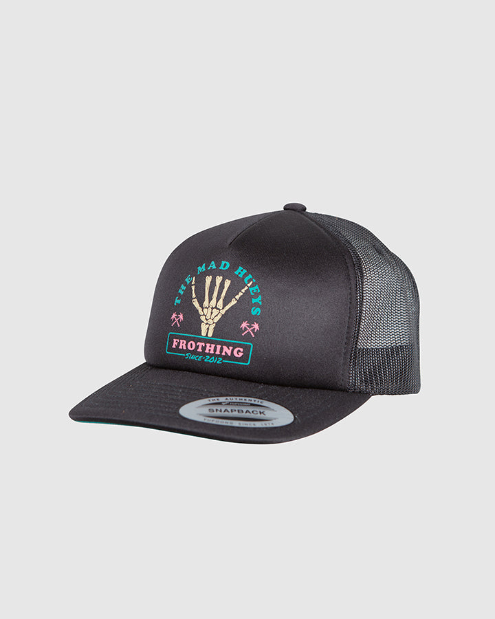 FROTHING YOUTH FOAM TRUCKER - BLACK