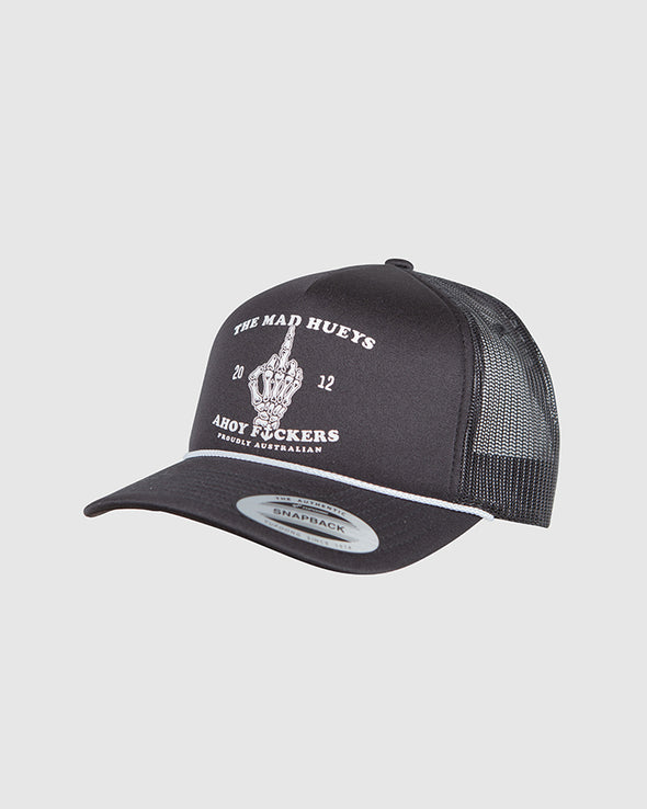 FLOATING FKR FOAM TRUCKER - BLACK