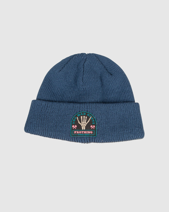 FROTHING YOUTH BEANIE - NAVY