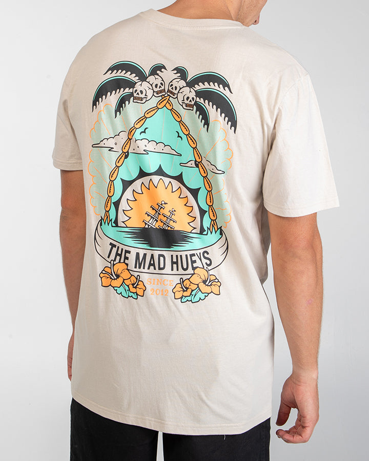 SHARK ISLAND SHORT SLEEVE TEE