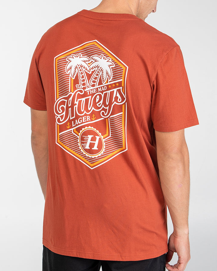 HUEYS LAGER SHORT SLEEVE TEE