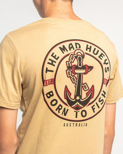 BORN TO FISH II YOUTH SHORT SLEEVE TEE