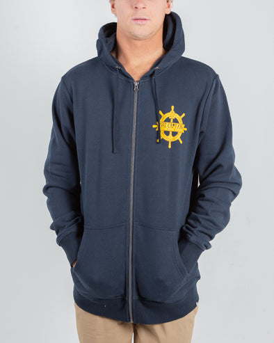 CAPTAIN WHEEL ZIP THRU - NAVY