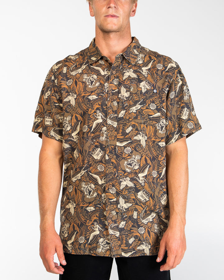 DOWN UNDER SHORT SLEEVE SHIRT