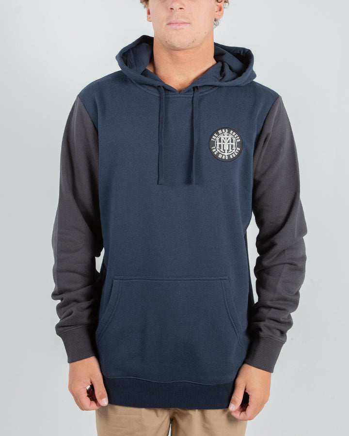 TWISTED PULLOVER - NAVY