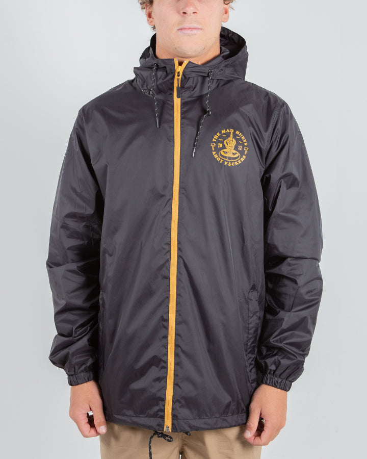 FLOATING FKR SPRAY JACKET - BLACK