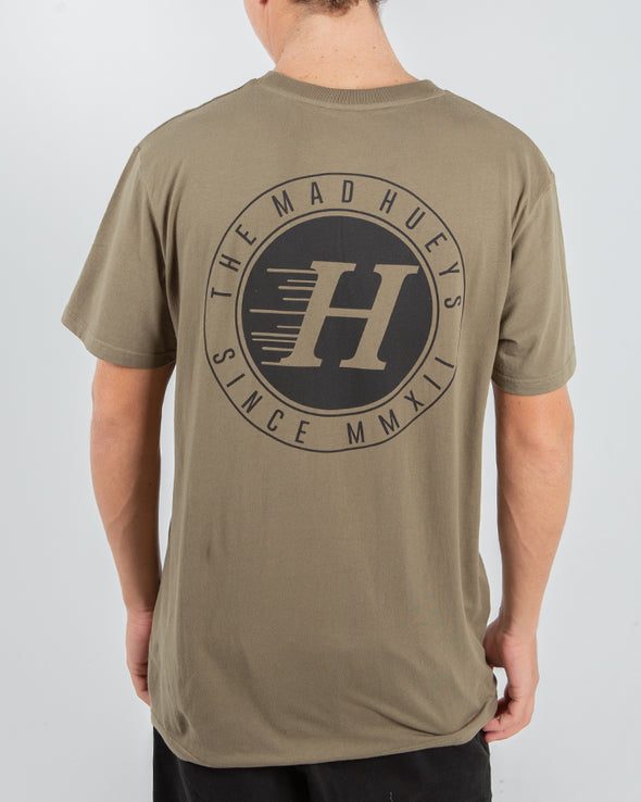 SOLID SHORT SLEEVE TEE - ARMY GREEN