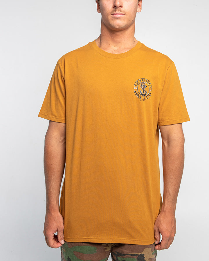 BORN TO FISH II SHORT SLEEVE TEE