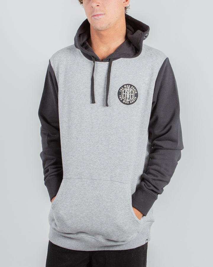 TWISTED PULLOVER - GREY MARLE