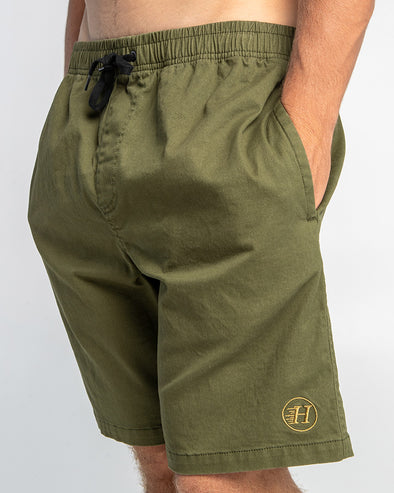 "THE BASIC CHINO 19"" - OLIVE"