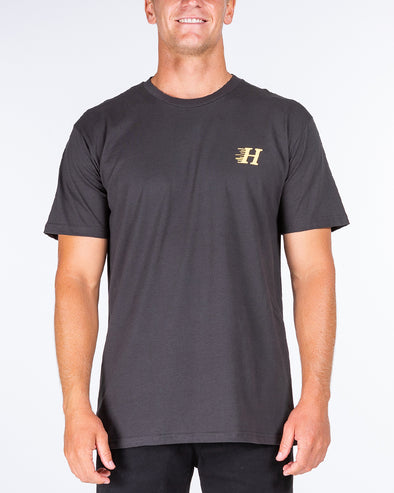 HUEYS CLASSIC SHORT SLEEVE TEE - COAL