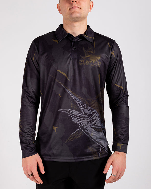 OFFSHORE DIVISION CAMO UV LS FISHING JERSEY